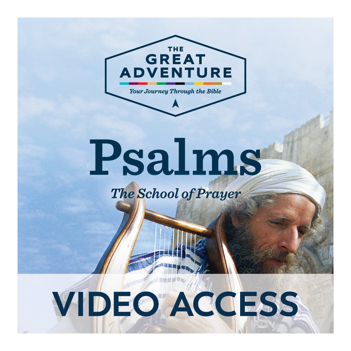Psalms: The School of Prayer [Online Video Access]