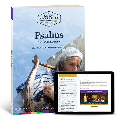 Psalms: The School of Prayer, Study Set