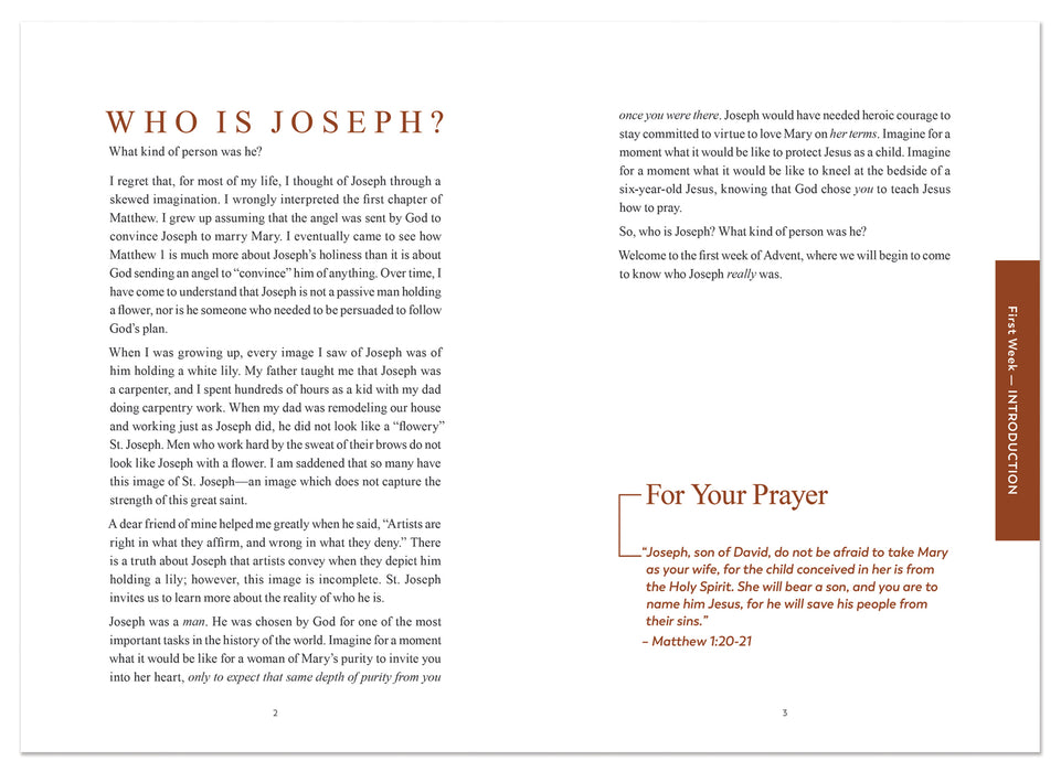 Rejoice! Advent Meditations with Joseph, Journal