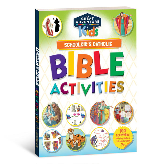 Schoolkid's Catholic Bible Activities, Ages 7-11
