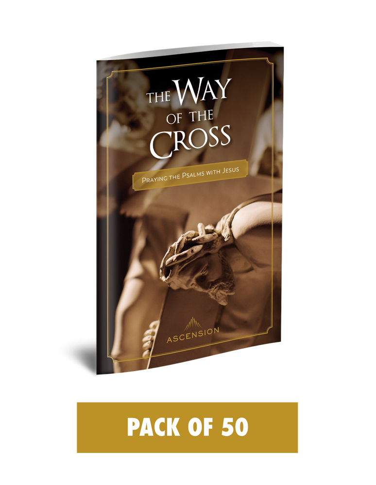 The Way of the Cross: Praying the Psalms with Jesus (Pack of 50)
