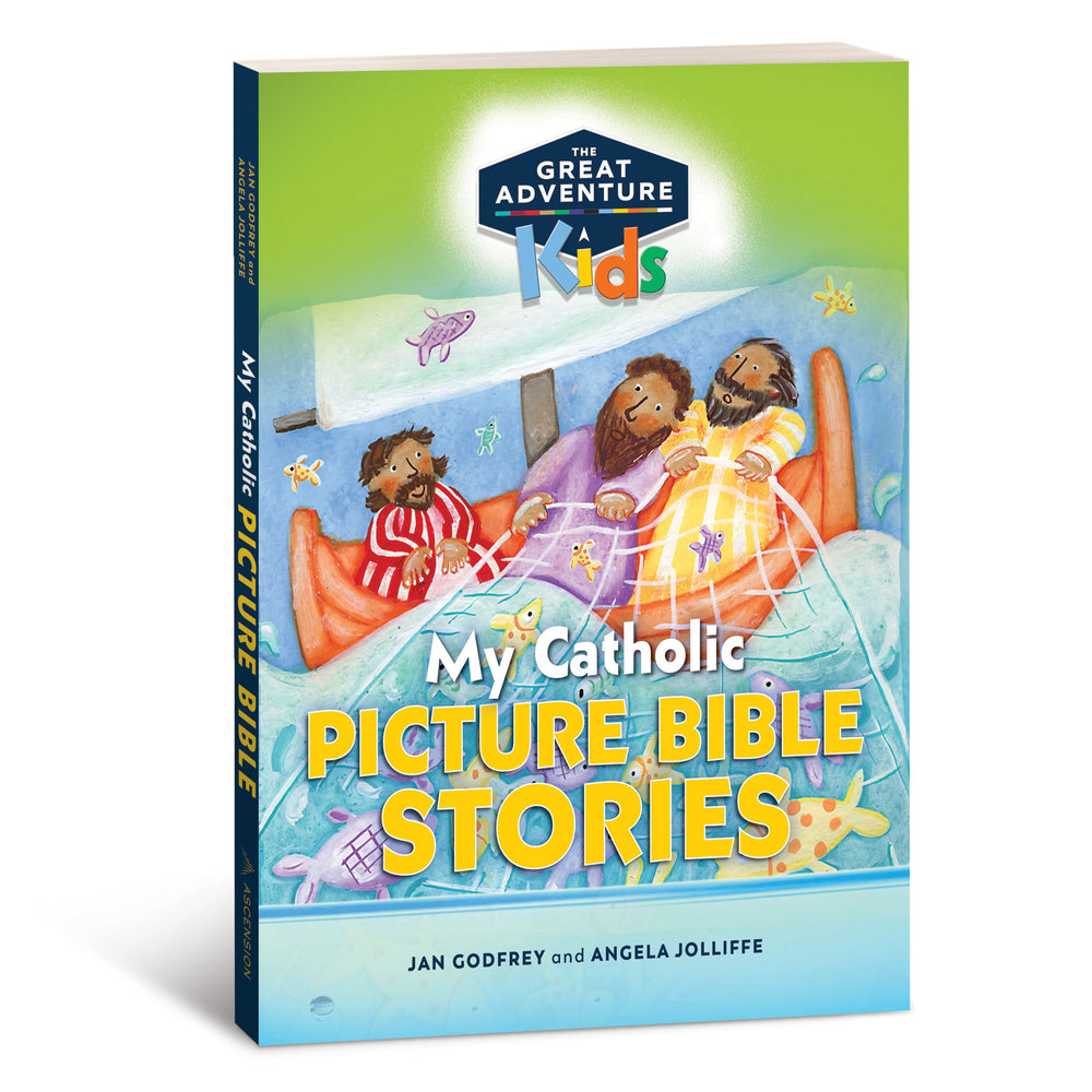 My Catholic Picture Bible Stories, Ages 4-7