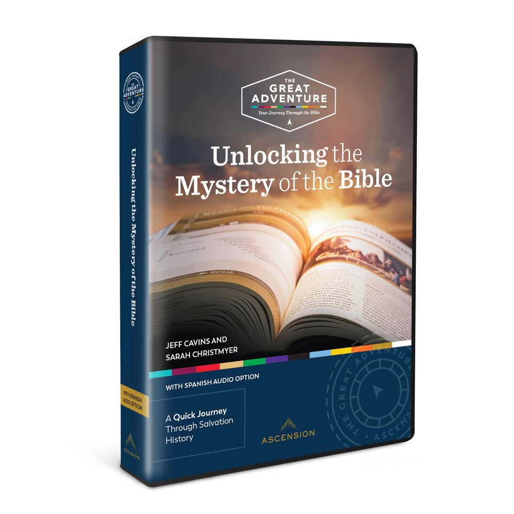 Unlocking the Mystery of the Bible, 4 DVD Set (English & Spanish)