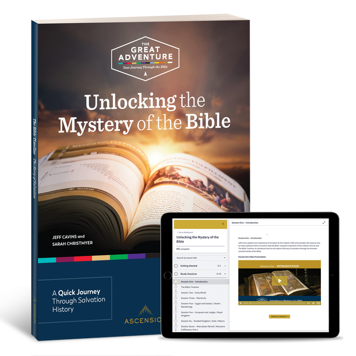 Unlocking the Mystery of the Bible Study Set