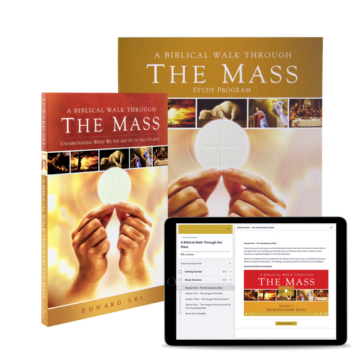 A Biblical Walk Through the Mass Study Set