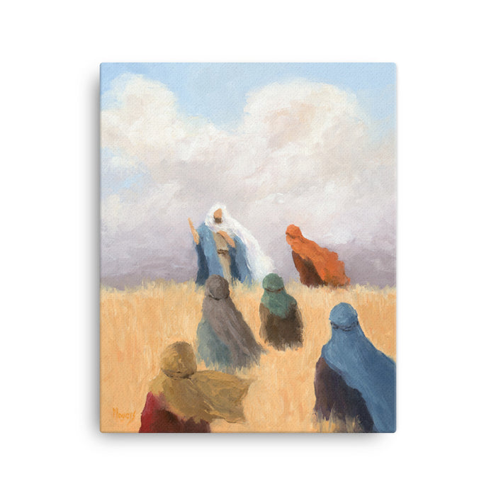 The Ascension Lenten Companion, Fine Canvas Art Prints: He Said to Them