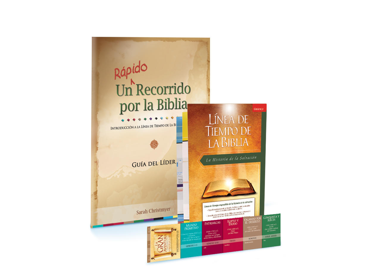 A Quick Journey Through the Bible, (Spanish) Leader's Pack