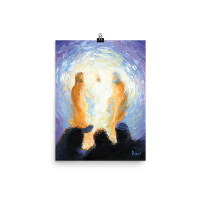 The Ascension Lenten Companion Art Prints: He Was Transfigured Before Them