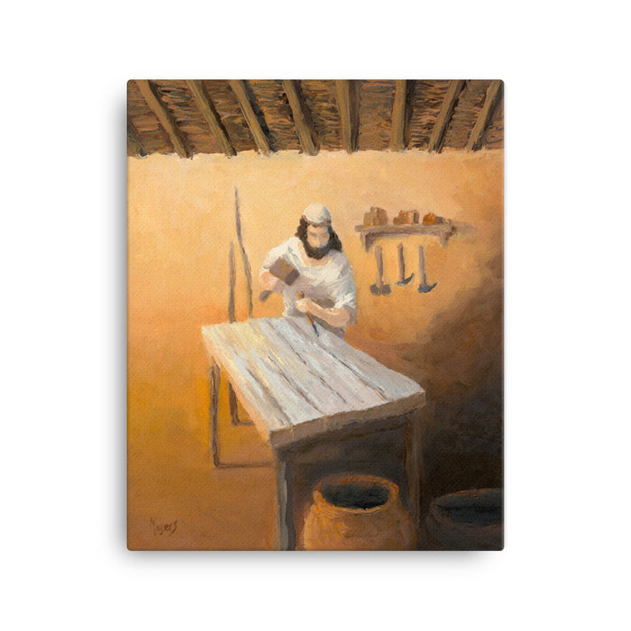 Rejoice! Fine Art Canvas Prints: Joseph the Carpenter