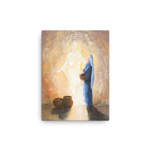Rejoice! Fine Art Canvas Prints: The Annunciation