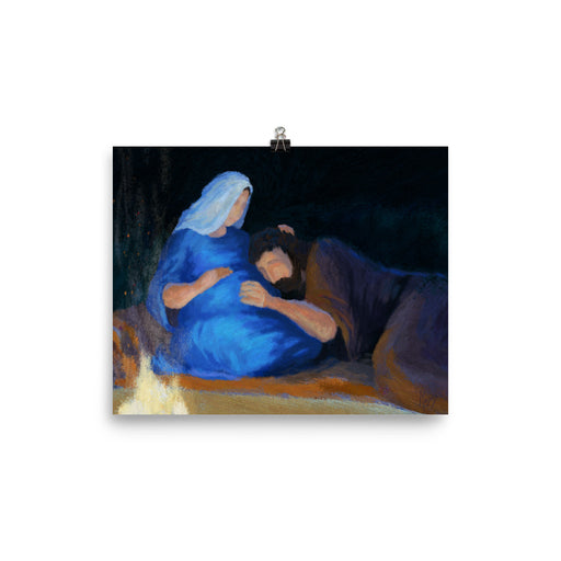 Rejoice! Art Prints: Joseph Listens to Jesus