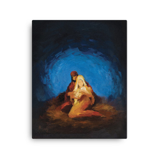 Rejoice! Fine Art Canvas Prints: The Nativity