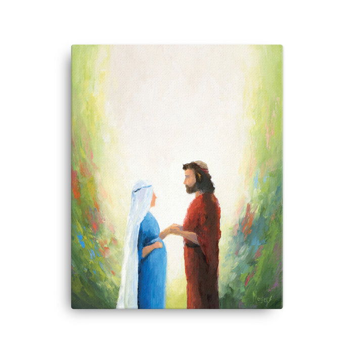 Rejoice! Fine Art Canvas Prints: Union