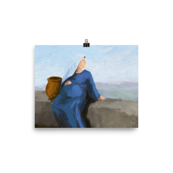Rejoice! Art Prints: Mary Waiting