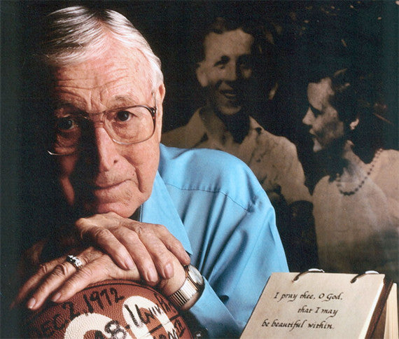 Sometimes It's About Perspiration and Inspiration …an Aha' Moment with Basketball Legend, Coach John Wooden…