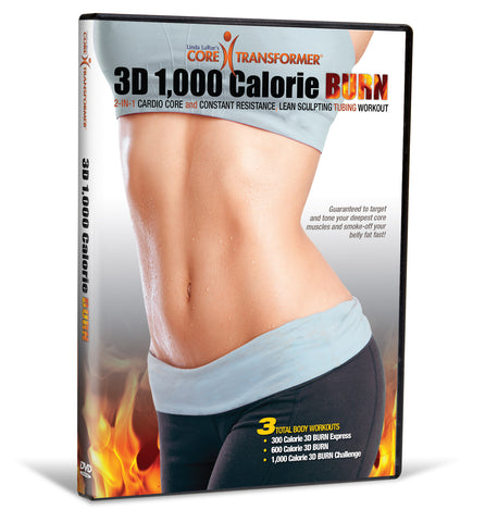Core Transformer® 3D 1,000 Calorie BURN Workout Video