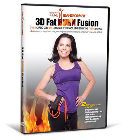 Core Transformer® 3D Fat BURN Fusion Workout Video