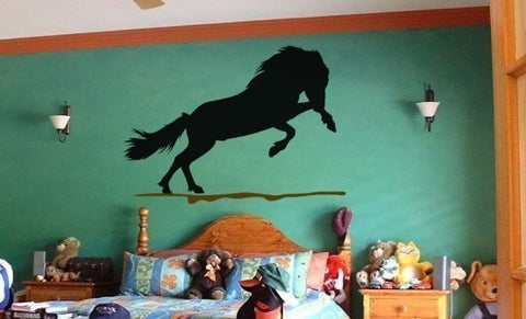 Horse decal-horse sticker-Icelandic horse-horse vinyl wall decor-28 X 40 inch horse