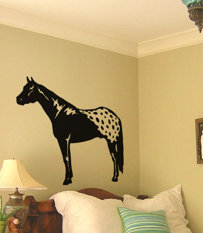 Horse decal-Horse sticker-Horse wall decal-Appaloosa decal-Appy decal-28 X 33 inches