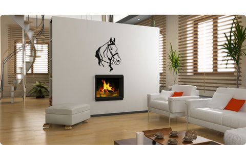Horse decal-horse sticker-tennessee walking horse-horse vinyl wall decor-19 X 28 inches