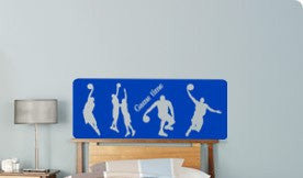 Basketball decal-basketball sticker-quote-sports vinyl wall decor-13 X 33 inches