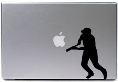Baseball-Vinyl decal-Baseball sticker-baseball decal-5 X 8 inches