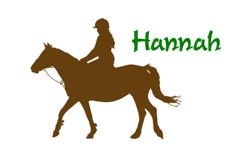 Horse-Horse decal-Personalized sticker-Horse wall decor-32 X 22 inches