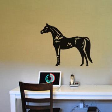 Horse decal-Horse wall sticker-Arabian horse-Horse sticker-23 X 28 inches