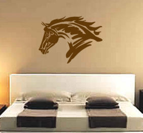 Horse Decal, Horse Wall Decal, Horse Decor, Child's Room, Teen Room, Dorm Room, 28 X 37 inches