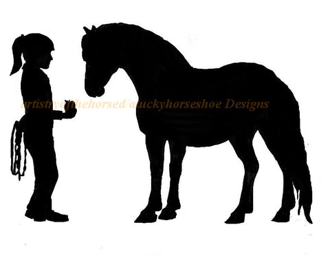 Horse-Best friends wall decal, Horse sticker-Horse decal, 27 inches x18 inches.  762-HS