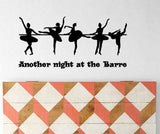 Dance Wall Decal Ballerina Quote Dance Quote Decal Quote Decal Teen Dorm  Decal Girls Room 27 x 13