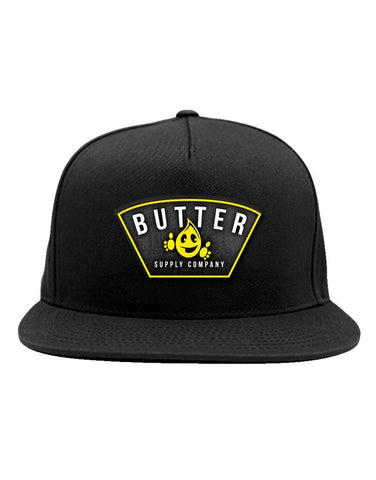 Wrapped Hat - Black - Butter Supply Company