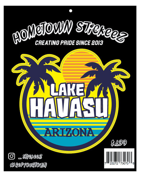 Lake Havasu City Sticker