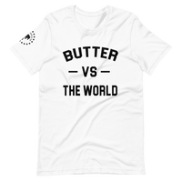 Butter Vs The World White T-Shirt