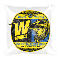 WORCS Square Pillow