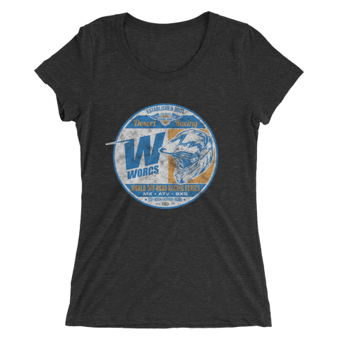 Vintage Racer Ladies  short sleeve t-shirt