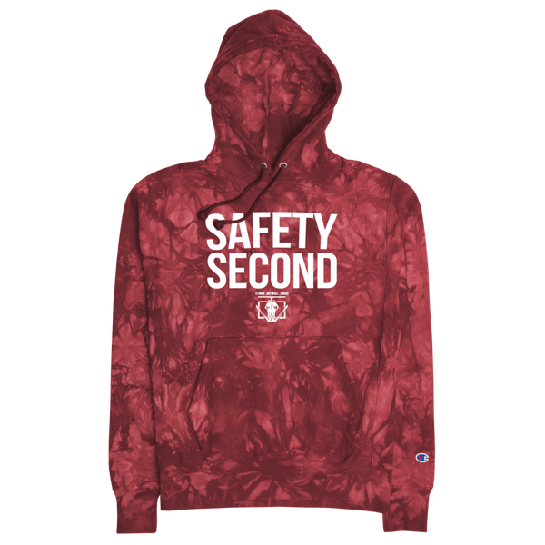 Safety Second Champion tie-dye hoodie