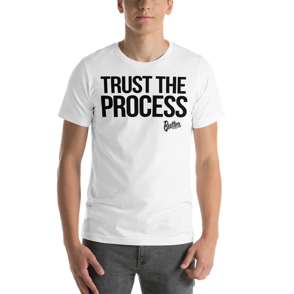 TRUST THE PROCESS (BLK) T SHIRT