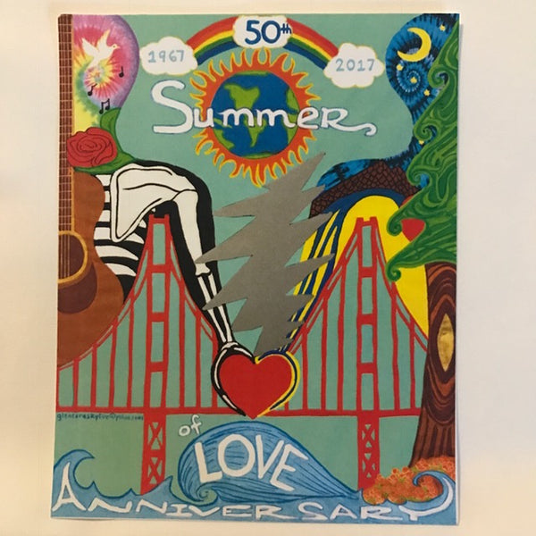 Summer of Love Poster or Postcard
