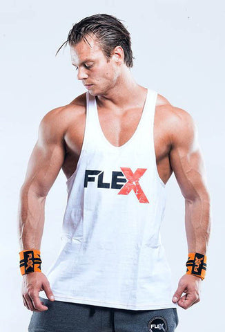 Flex Tank Stringer - White/Red