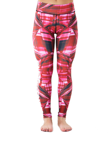 Compression Leggings - Red