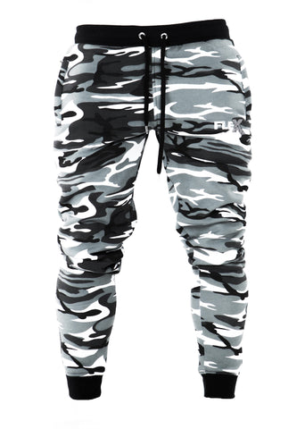 Joggers - Cuffed ankles / Arctic Camouflage