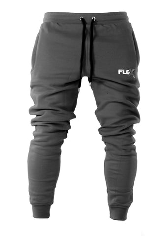 Joggers - Cuffed ankles / Gray
