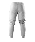 Joggers - Cuffed ankles / Light gray