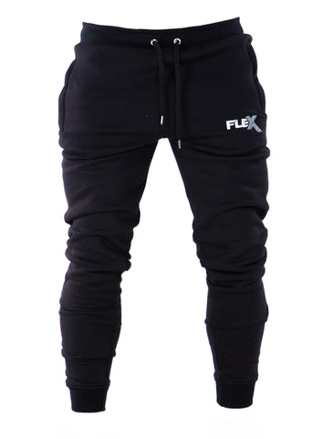 Joggers - Cuffed ankles / Black