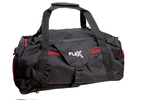 Gym Tech Bag - Black / Red