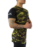Two tone Camouflage Tee - Long length