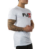 Flex T-Shirt - White/Red