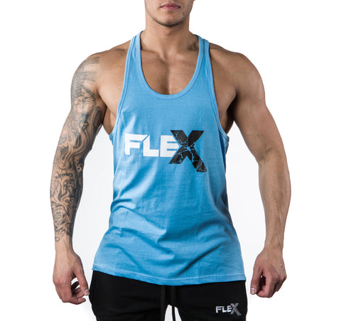 Flex Tank Stringer - Light blue