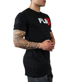 Flex T-Shirt - Black/Red